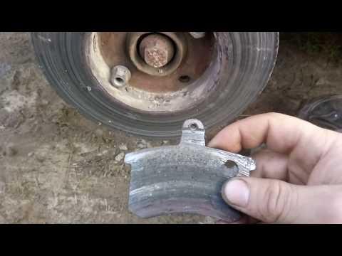 Как проточить тормозные диски своими руками видео