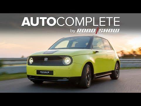 AutoComplete: Honda's E electric city car gets surprisingly sporty power figures