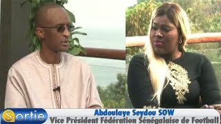 Sortie avec Abdoulaye Seydou SOW (Vice Président Fédération Sénégalaise de Football)
