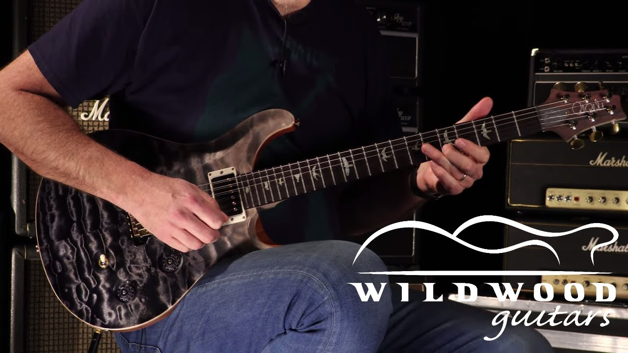 Download PRS Guitars Wildwood 35th Anniversary Wood Library Custom 24 Fatback  •  SN: 190291805