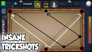 INSANE TRICKSHOTS - BEST INDIRECT SHOTS - GAMING WITH K - 8 BALL POOL - MINICLIP