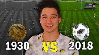 1930 VS 2018 FUTBOL TOPU (Fifa 18)