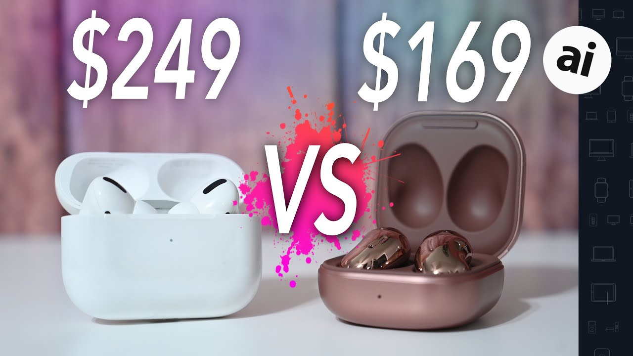 Compared: Apple's AirPods Pro vs Samsung Galaxy Buds Plus