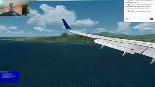 Tropical ILS landing into Lihue Hawaii in the PMDG 737-800 {FSX}