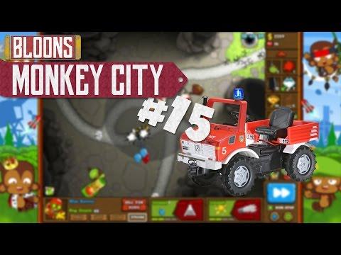 Als die Feuerwehr vor meiner Tür stand - Bloons Monkey City #15