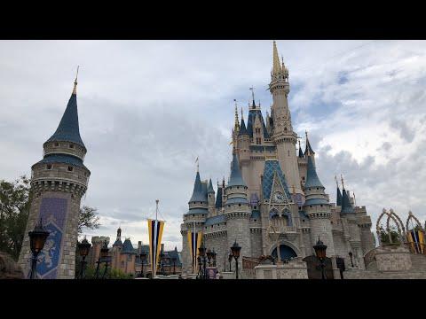 Magic Kingdom Daytime Live Stream 1-20-18 - Walt Disney World