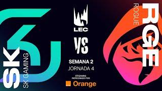 SK GAMING VS ROGUE   LEC   JORNADA 4   Summer Split [2019] League of Legends