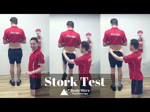 Stork test - BodyWorx Physiotherapy Newcastle