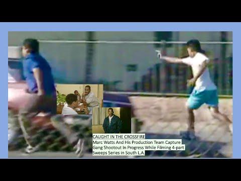 Kids N the Hood Crime: Part 2- Gang Shooting on Live TV!!!