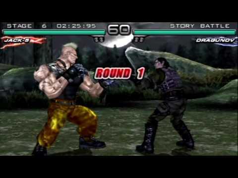 Tekken: Dark Resurrection (PSP) Story Battle as Jack-5