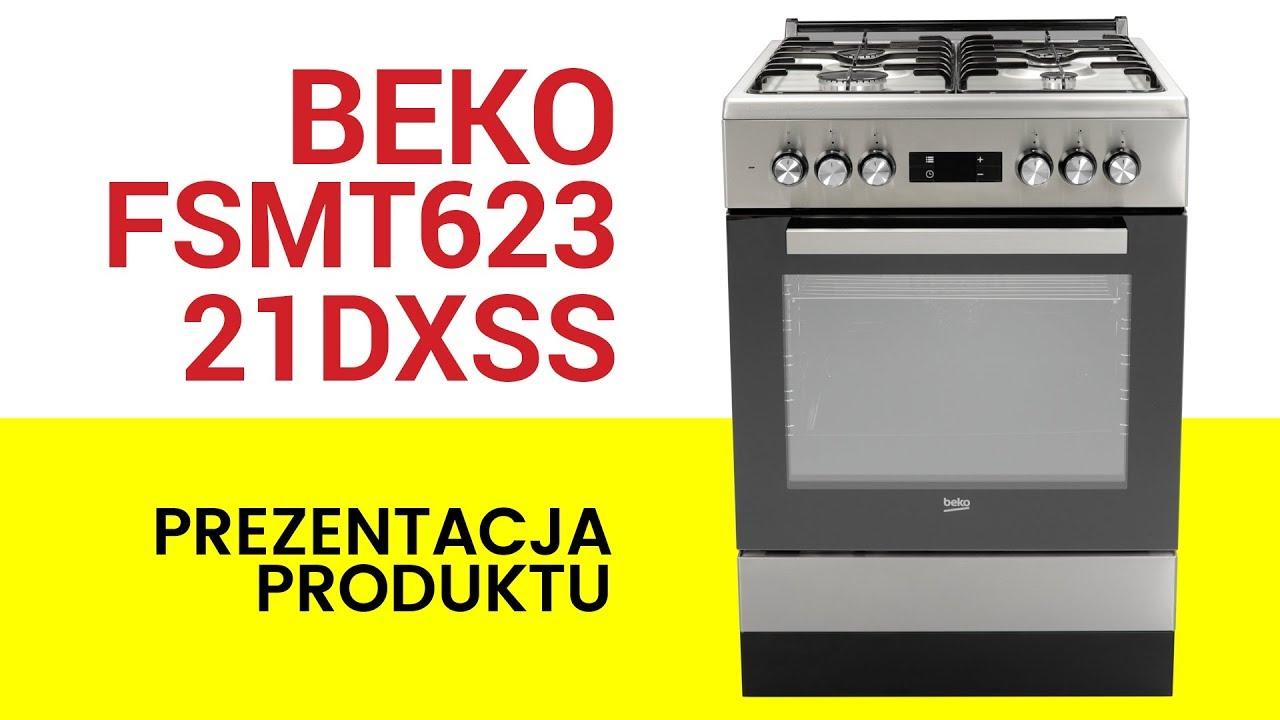 Kuchnia Beko Fsmt62321dxss