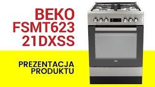 Kuchnia Beko Fsmt62321dxss Youtube
