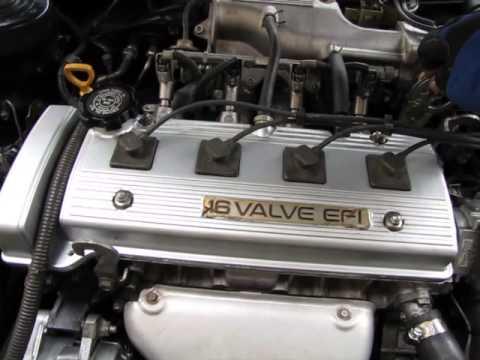 7afe 4afe Toyota Corolla Engine Rebuild Finished