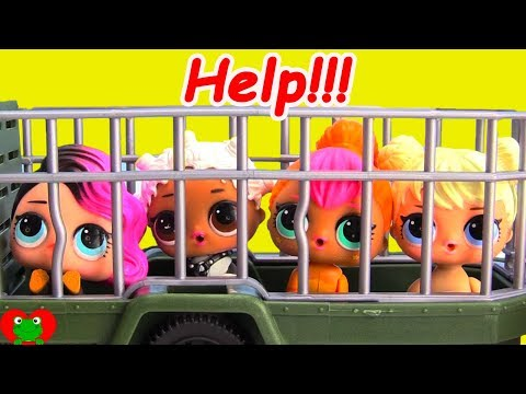 LOL Surprise Pets Wrong Heads Locked Up Shimmer and Shine Do