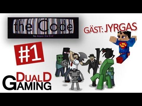 DualD Gaming spelar Minecraft - The Code med Jyrgas - Avsnitt 1
