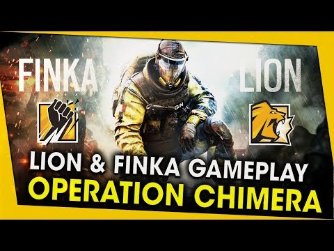 ON TEST LION & FINKA ! GAMEPLAY OPERATION CHIMERA - RAINBOW SIX SIEGE