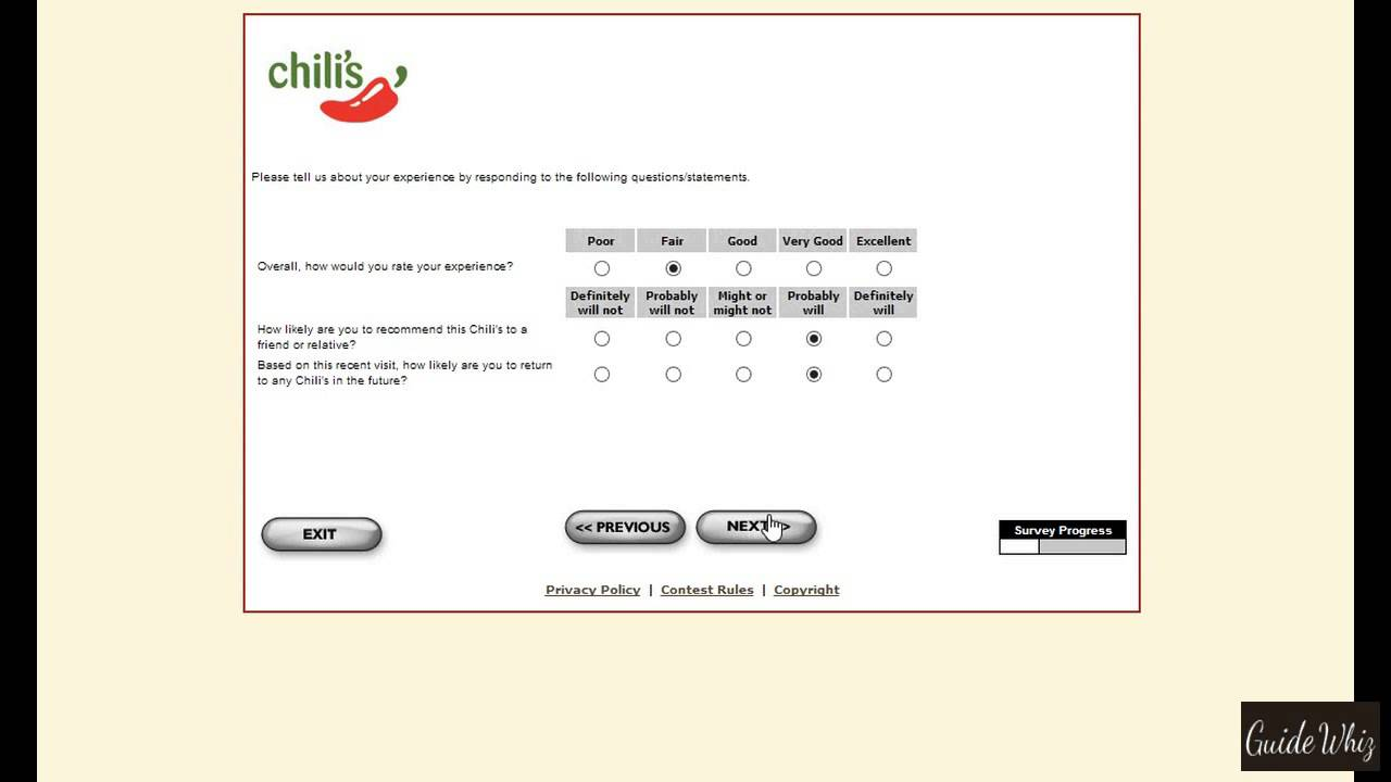 chilis customer service