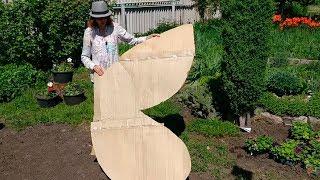как сделать супер клумбу из петуний своими руками