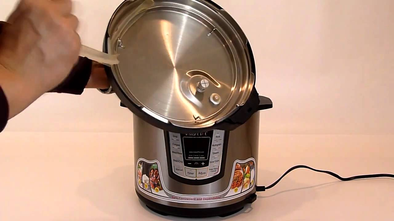 Instant Pot Electric Pressure Cooker Youtube
