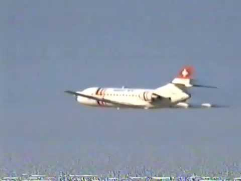Caravelle at Zurich 1994  takeoff