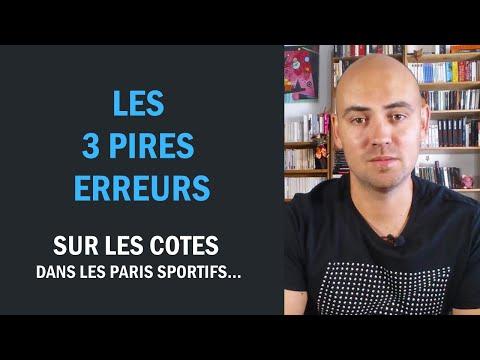 3 erreurs majeures sur les cotes dans les paris sportifs