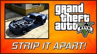 GTA V Online | Cleanly Remove the Hood, Boot and Doors of your Car