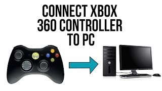 Connect Xbox 360 Controller to PC (Wireless/Wired)- Windows XP/Vista/7/8 - 2014