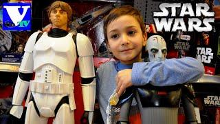 VLOG Магазин игрушек: STAR WARS! Звездные войны - Персонажи и игры. StarWars shopping