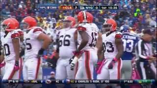 2012 Week 5 Browns @ Giants