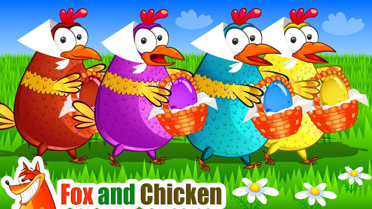 Humpty Dumpty Song + More Nursery Rhymes & Kids Songs - Fox and Chicken for Kids
