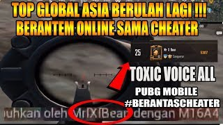 Download Video TOXIC VOICE ALL SAMA TOP GLOBAL 25 CHEATER HAHAHA - PUBG MOBILE MP3 3GP MP4