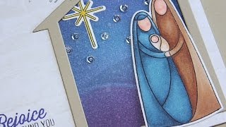 Simon Says Stamp Stamptember 2014 | Nativity Card