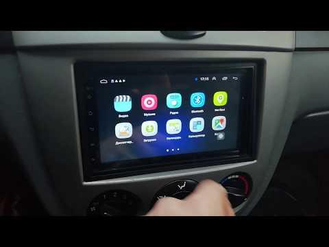 Магнитола Podofo на база андроид 8.1 с функциями WI-FI, GPS, Bluetooth с Али