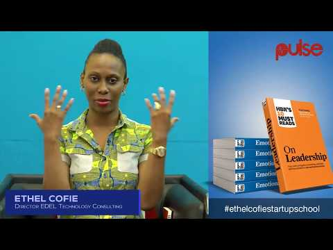 TOPIC: Dealing with the Difficult days as an entrepreneur by Ethel D. Cofie