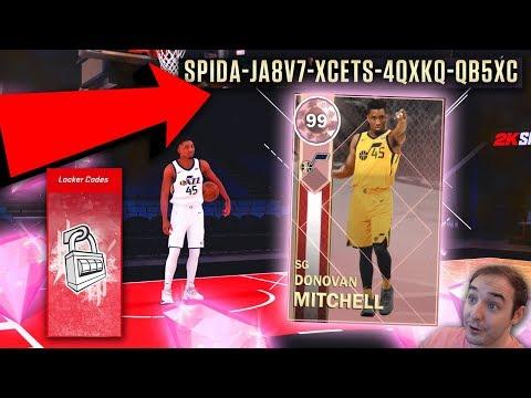 NBA 2K18 My Team NEW FREE PINK DIAMOND LOCKER CODE! GO ENTER NOW PD DONOVAN MITCHELL!
