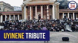 WATCH   UCT students hold night vigil to remember Uyinene Mrwetyana