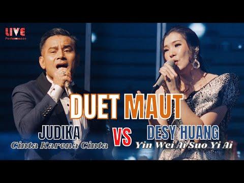 merinding!!-judika---cinta-karena-cinta-x-desy-huang---yin-wei-ai-suo-yi-ai【live-performance】