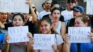 Democrats, media slam 'racist' DACA decision thumbnail