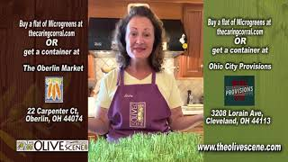 Cooking With The Olive Scene - Caring for your Microgreens