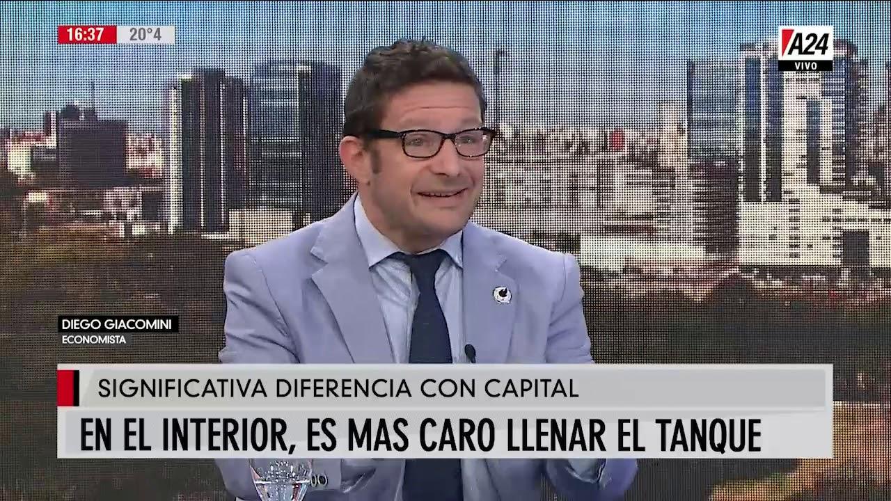 Diego Giacomini analiza la economía en más que noticias