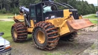 Cat 525C Skidder