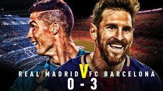 Real Madrid vs Barcelona [0-3], El Clasico, December 2017