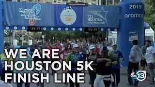We Are Houston 5K   FINISH LINE VIDEO