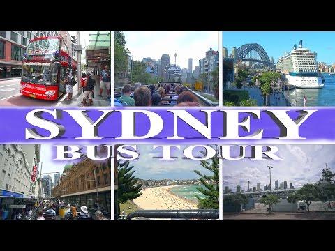 Sydney - Explorer Bus Tour 4K