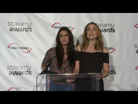 Brittany Furlan & Shira Lazar Announce Ensemble Cast - Streamy Awards 2016