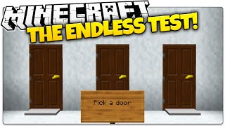 Minecraft | THE ENDLESS TEST! | Trapped by The Evil Master (Minecraft Puzzle Map)