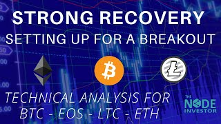 Strong Bounce - Technical Analysis Updates for BTC EOS ETH and more