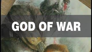 SPEED DRAWING #8 | Kratos & Atreus [God of War]
