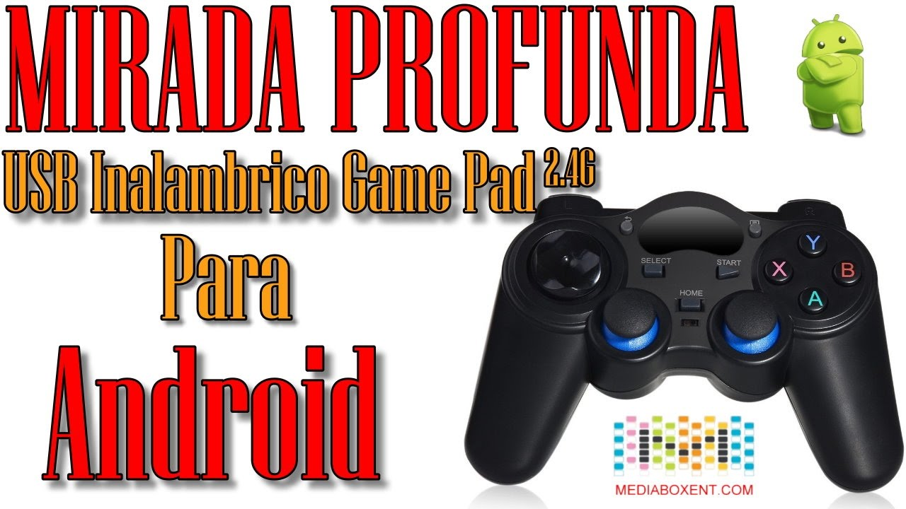 64ae0983541 🎮GAME PAD INALÁMBRICO USB 2.4Ghz PARA 👾 Android TV - MXQ PRO - CELULARES  - YouTube