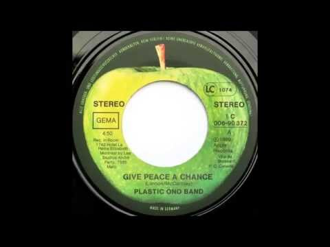 "1981 - Plastic Ono Band - Give Peace A Chance (7"" Single Version)"